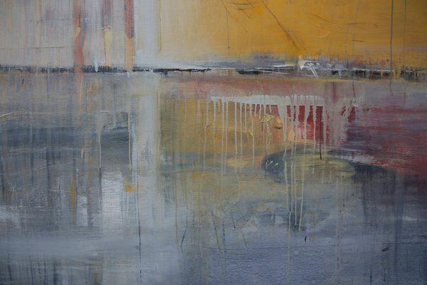Arienne Molenaar - Schilderijen - A4 - Scheldekade Antwerpen
