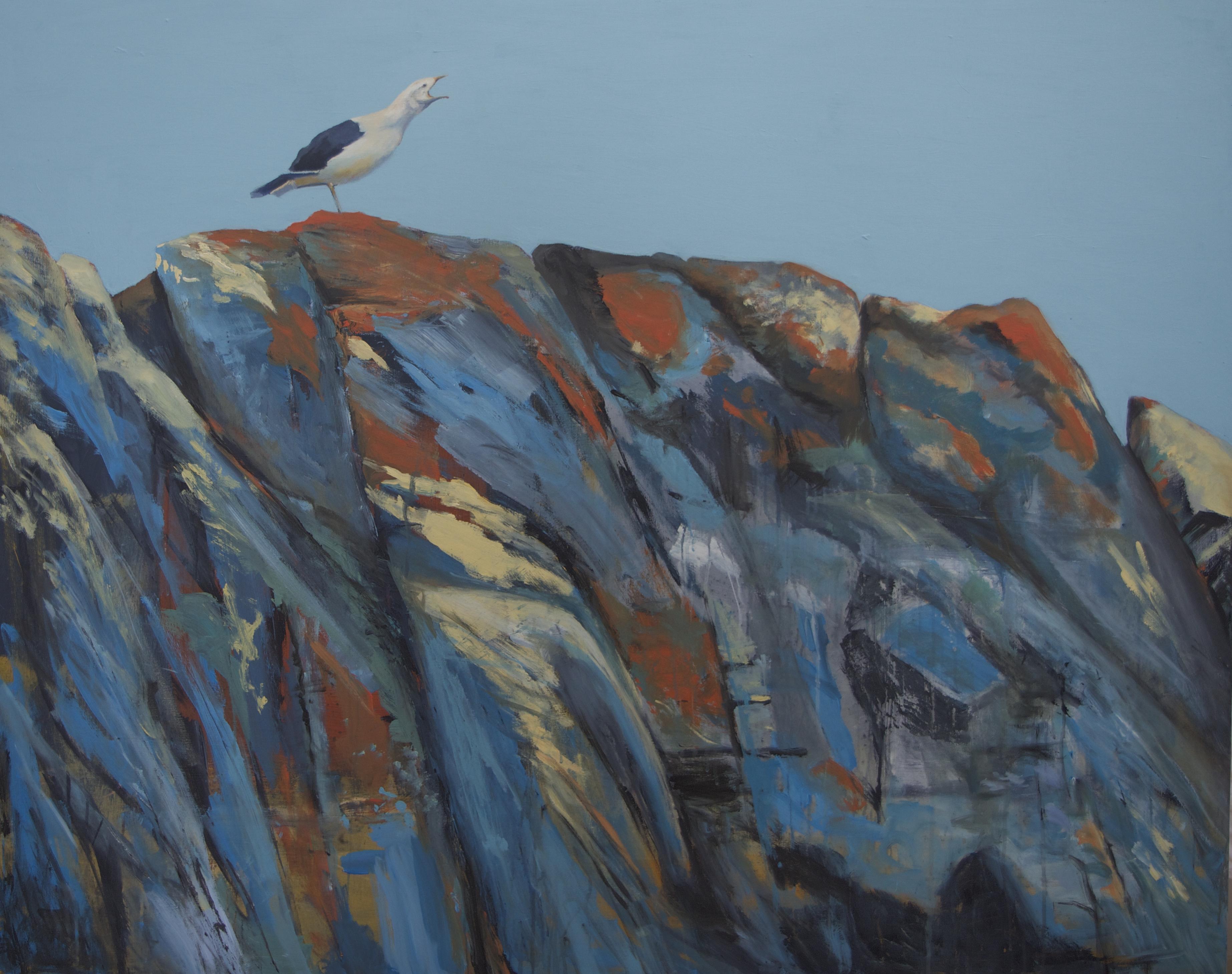Arienne Molenaar - Schilderijen - L5 - Antartica