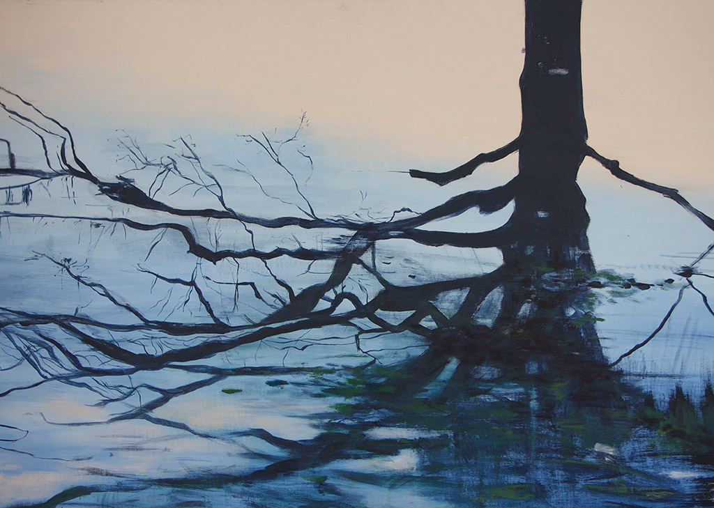 Arienne Molenaar - Schilderijen - L6 - Weerspiegeling