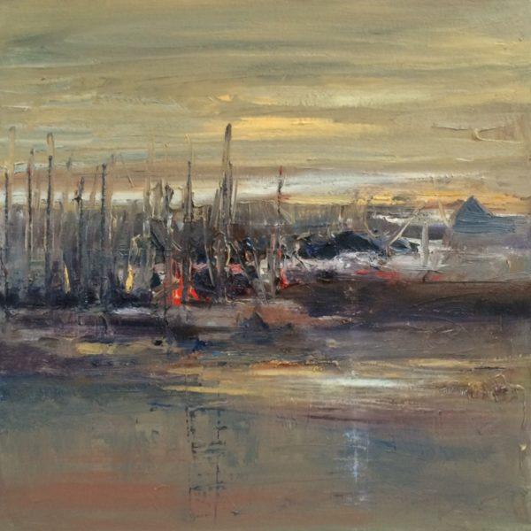 Arienne Molenaar - Schilderijen - L7 - Haventje