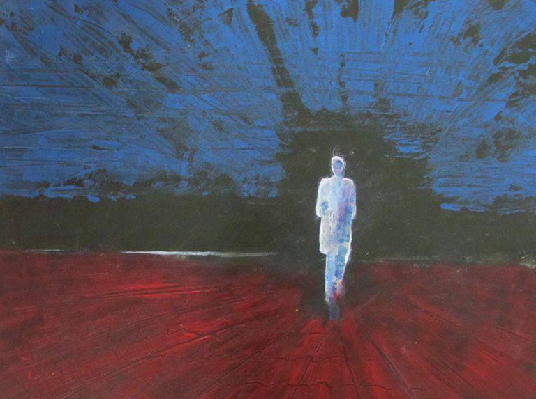 Arienne Molenaar - Schilderijen - P5 - Eenzaamheid