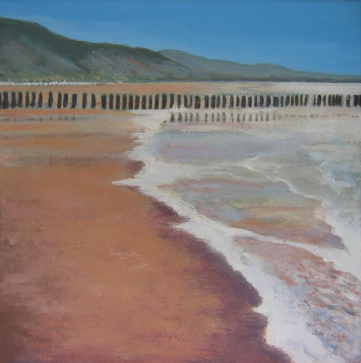 Arienne Molenaar - Schilderijen - Z13 - Zee bij Dishoek