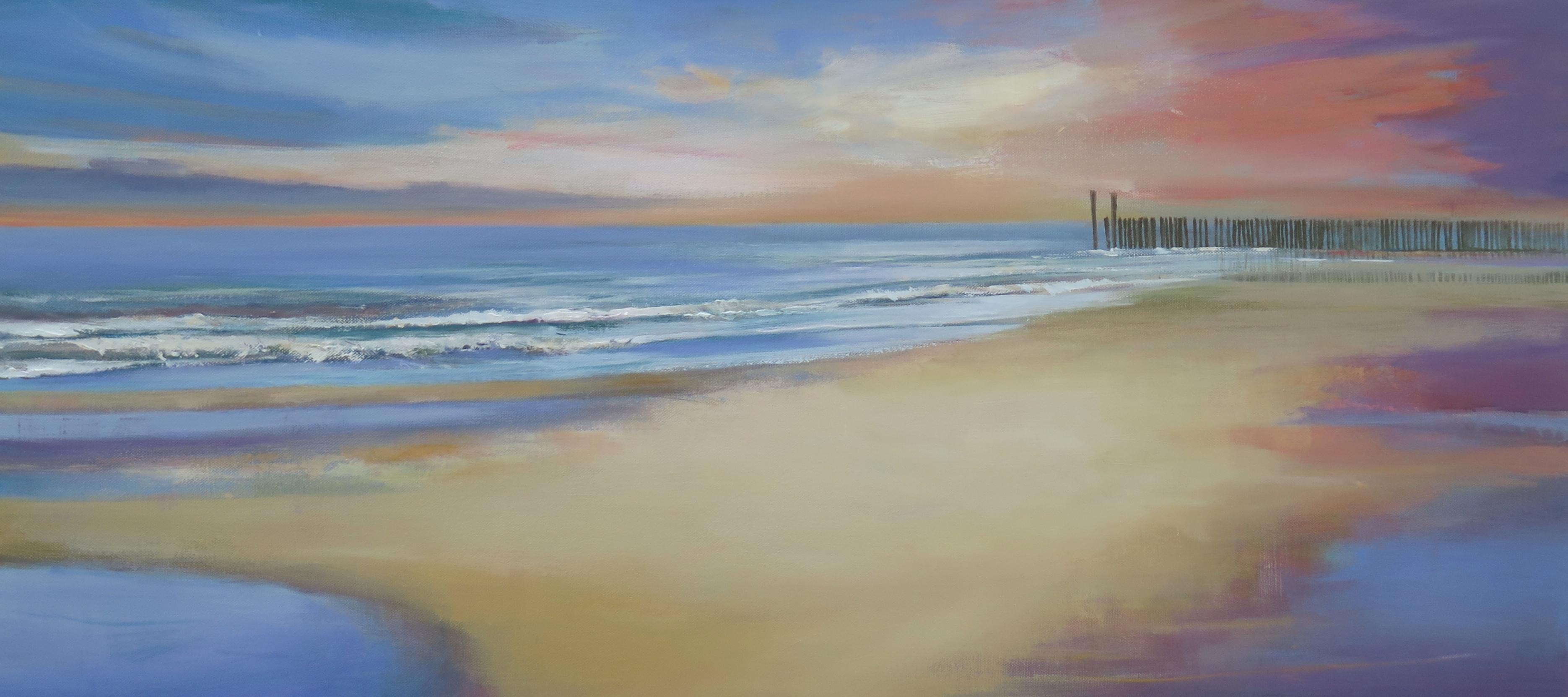 Arienne Molenaar - Schilderijen - Z24 - Zee bij Zoutelande