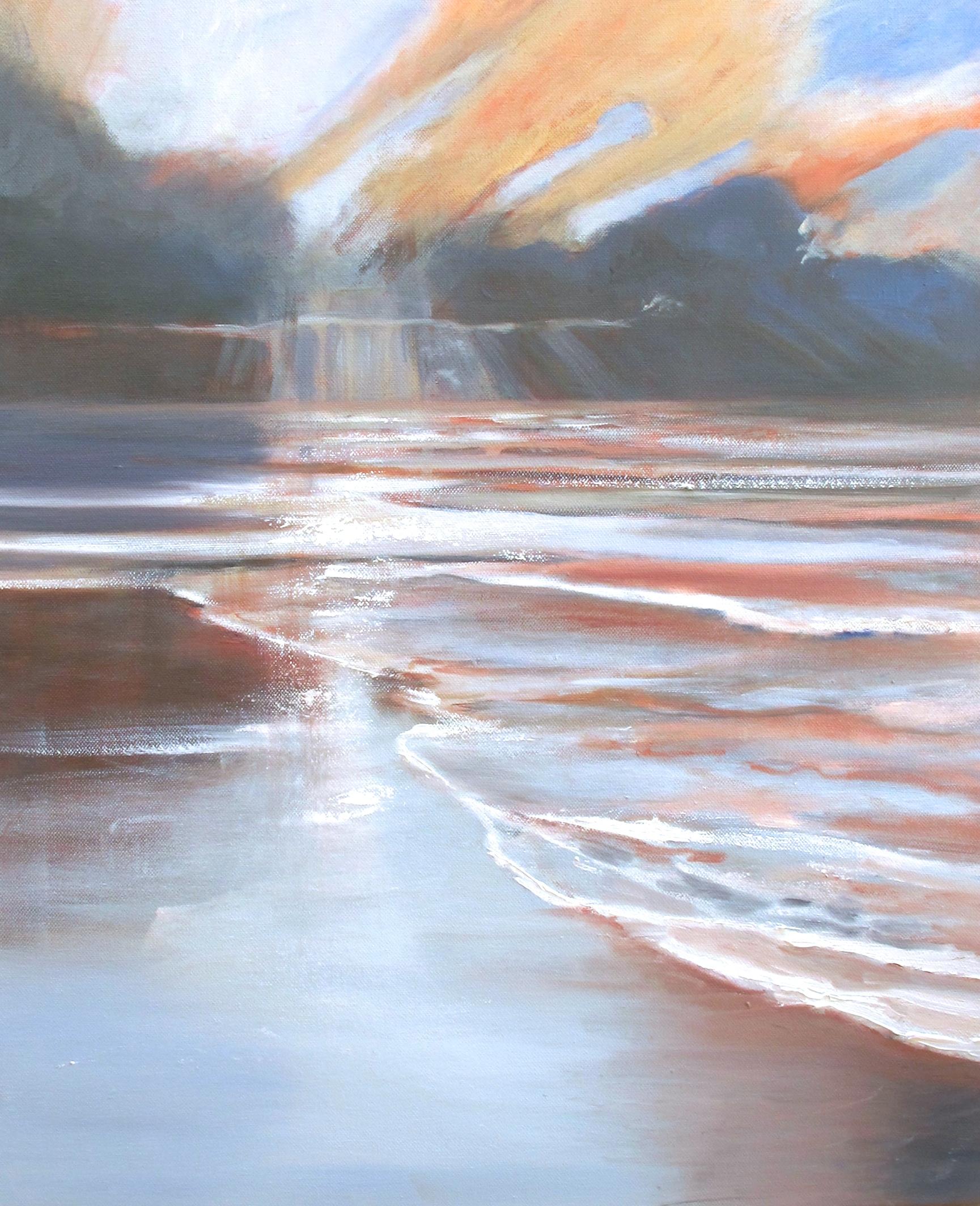 Arienne Molenaar - Schilderijen - Z27 - Opkomende storm