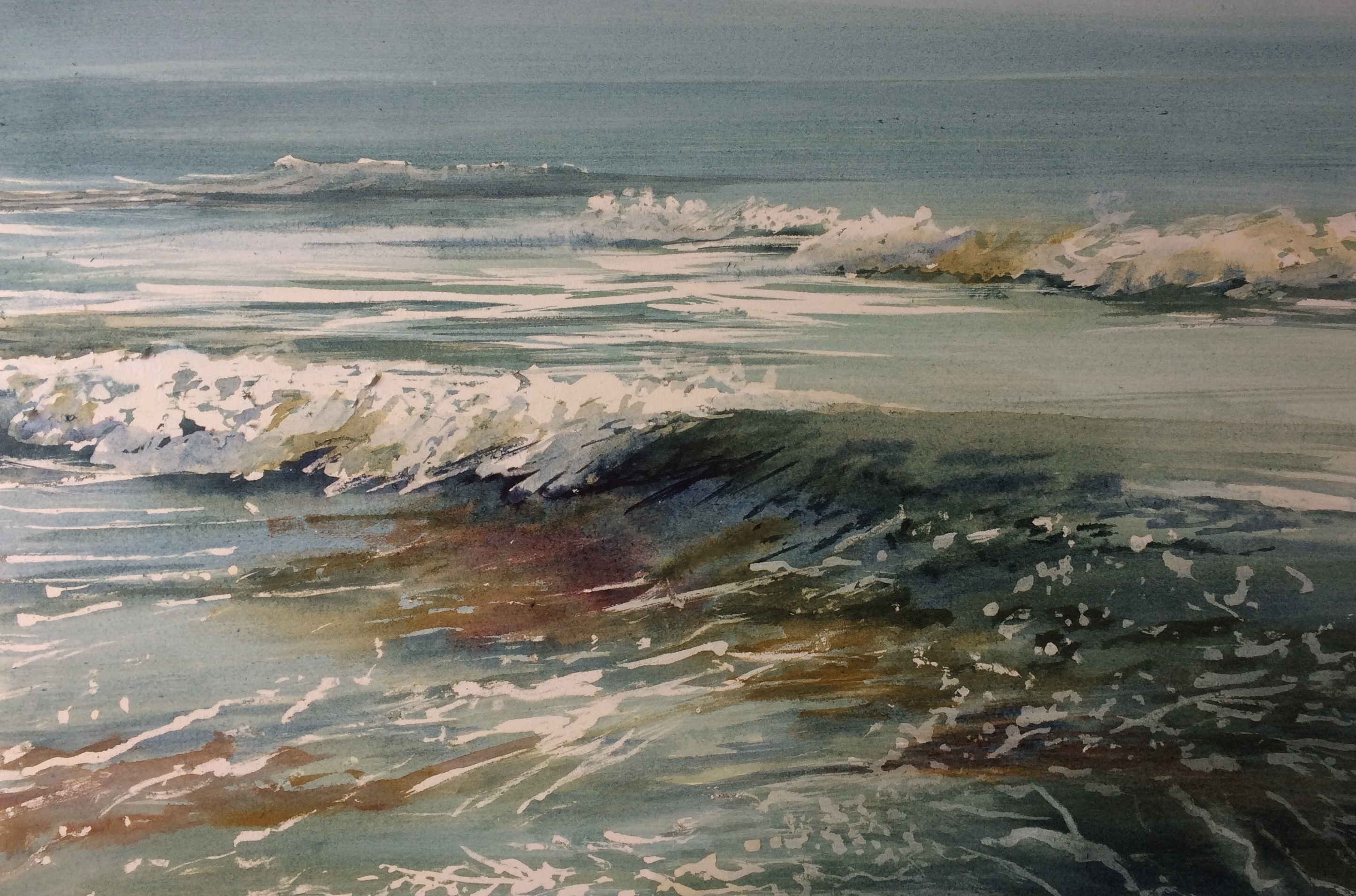 Arienne Molenaar - Schilderijen - Z28 - Zee