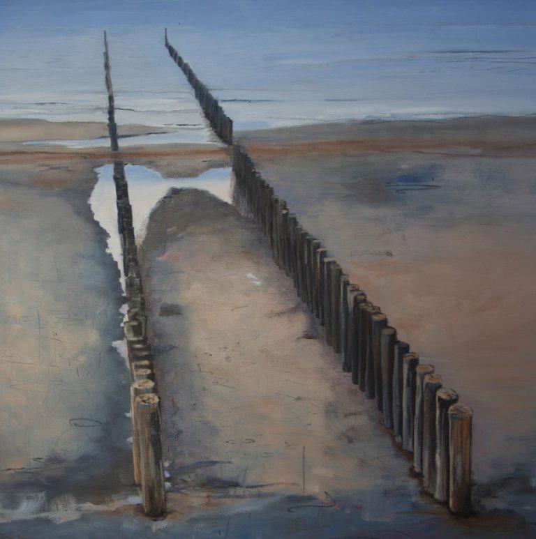 Arienne Molenaar - Schilderijen - Z7 - Paalhoofden